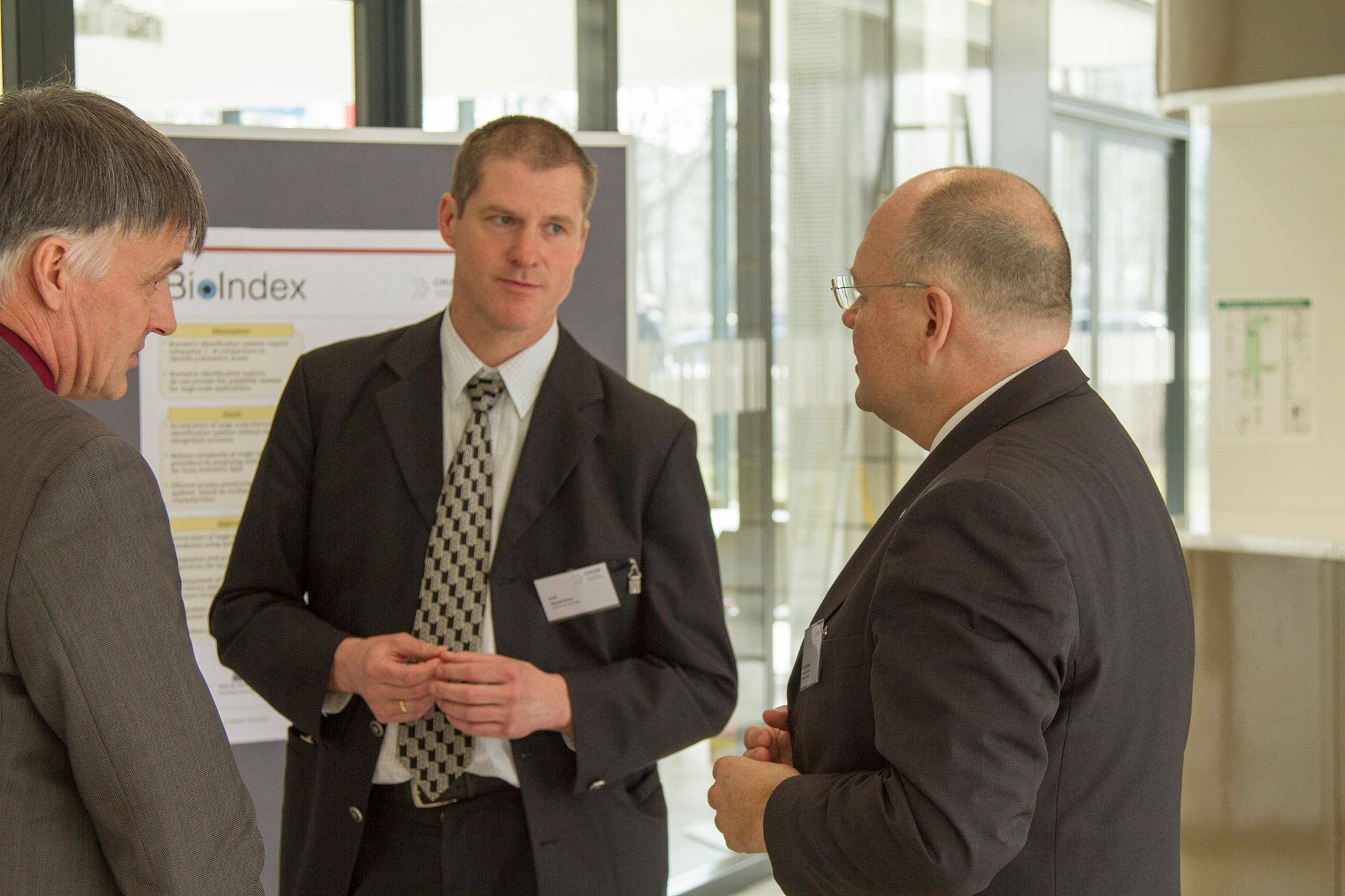 Besuch des BSI Präsidenten Dr. Arne Schönbohm